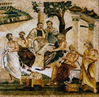 Plato mosaic350