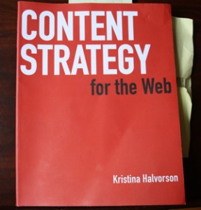 Book Review: Content Strategy for the Web by Kristina Halvorson