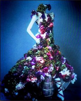 McQueen flower gown275