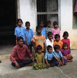 Rural school in Udaipur, India
