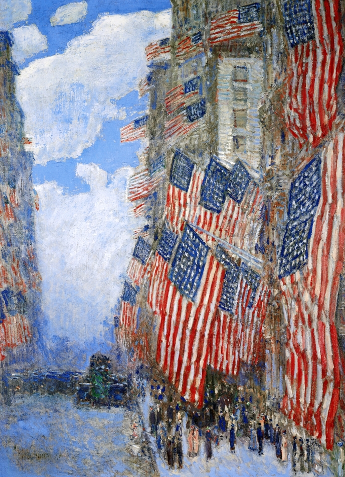 Hassam_The_Fourth_of_July,_1916_Childe_Hassam