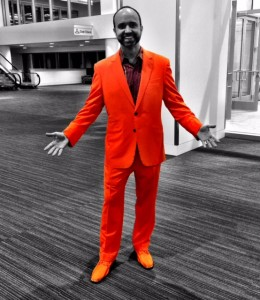 "Orange is the New Hack <br /><span style='font-size: 18px;'>""Pulizzi Orange"" Color Trend Sweeps #CMWorld Conference</span>"